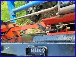 NewHolland TN65 4X4-HD Loader-Universal Quick Tack-run all Skid Steer attachment