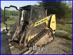 Newholland C227 Track Skid Steer Loader. Cab With Air