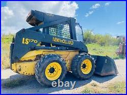 Newholland LS170 Fully Enclosed Cab Skid Steer 1400HRS Original