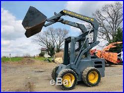 Newholland Ls-455 Skid Steer Loader Diesel Cat Plow Tractor. Clean. We Ship