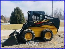 Newholland Ls180 Skid Steer Loader Super Boom Turbo Diesel Power Hyd