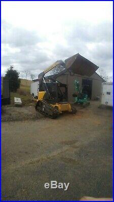 Newholland c190 rubber track loader