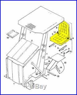 OEM New Holland 9601473 SKID STEER SEAT L553 L554 L555 L781 L784 L785 LB620 +