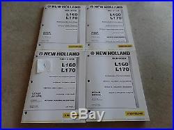 OEM New Holland L160 L170 Skid Steer Loader Factory Service Repair Manual