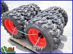 Original Bobcat 10-16.5 Skid Steer Tires/wheels/rims 10X16.5