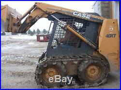 Over the Tire Steel Skid Steer Tracks for NEW HOLLAND LX985