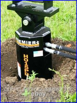 PREMIER H015 HYDRAULIC AUGER DRIVE ATTACHMENT for fits Bobcat Skid Steer Loader