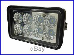 Qty 2 New Holland LED Skid Steer Headlights New Design On The Market