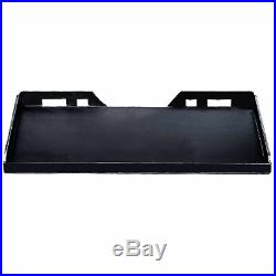 Quick Tach Attachment Mount Plate 5/16 Steel Skidsteer for Kubota Bobcat Traile