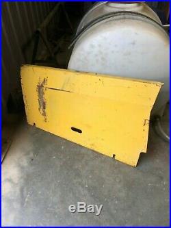 RH ENGINE PANEL BATTERY SIDE SKID STEER LOADER LS190 LX985 may fit LX885 LS180