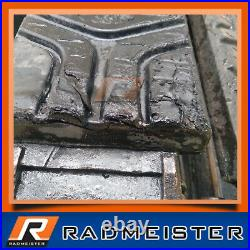 Rubber Skid Steer Over the Tire OTT Tracks 10 for use on 10x16.5 Tires