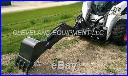 SWING ARM BACKHOE BOOM ATTACHMENT Excavator Skid Steer Loader Bobcat New Holland