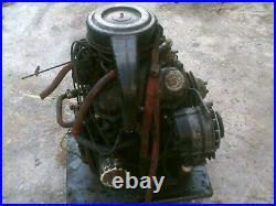 Saab 95 -ford V-4 saab sonnet- german /english ford / new holland/skid steer