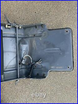 Seat Base Pan fits LS170 And Others New Holland skid steer, OEM