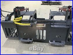 Skid Steer 84 Inch Heavy Duty Rock Grapple Bobcat Caterpillar Kubota Case ASV