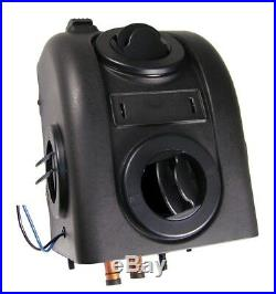 Skid Steer Cab Heater Hot Water 12 Volt 2 Speed Fan 200 CFM 6 Amps 13 200 BTUs