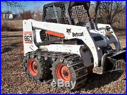 Skid Steer Over the Tire Tracks for NEW HOLLAND LS160, LS170, LS175