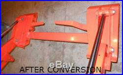 Skid Steer Quick Attach Adapter Assembly Bobcat Kubota Mounting Plate