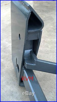 John Deere Skid Steer >> Skid Steer Quick Attach Adapter Assembly Bobcat Kubota ...