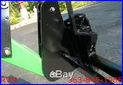 Skid Steer Quick Attach Adapter Assembly John Deere Mounting Plate