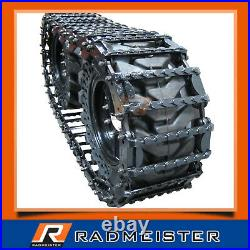 Skid Steer Steel Over the Tire OTT Tracks 12 for use on 12x16.5 Tires
