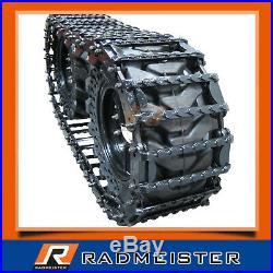 Skid Steer Steel Over the Tire OTT Tracks 12 for use on 12x16.5 Tires