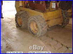 Skid Steer Tracks 10x16.5 tires Loader fits Bobcat New Holland Case JD, more OTT