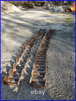 Skid Steer Tracks (fits Bobcat, New Holland, Ghel, Cat, JD, etc.) 10x16.5 OTT SET