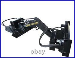 Skid steer Boom mower Articulating Brush Cutter Skid Steer Ditch Mower