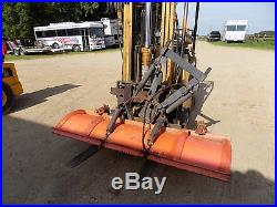 Skid steer New Holland with extras