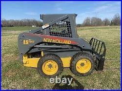 Skid steer loader used NEW HOLLAND