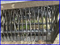 Skid steer rock bucket 80 new Cat Bobcat Case ASV Gehl JCB Kubota JCB Mustang