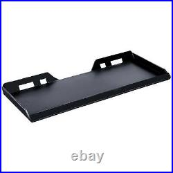 Skidsteer Quick Tach Attachment Mount Plate Structural Steel Unpainted 1/2