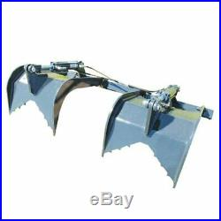 Stout Skid Steer Grapple Attachment Add-On