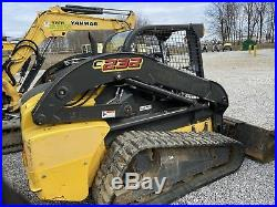 Used 2013 New Holland compact track loader model C232